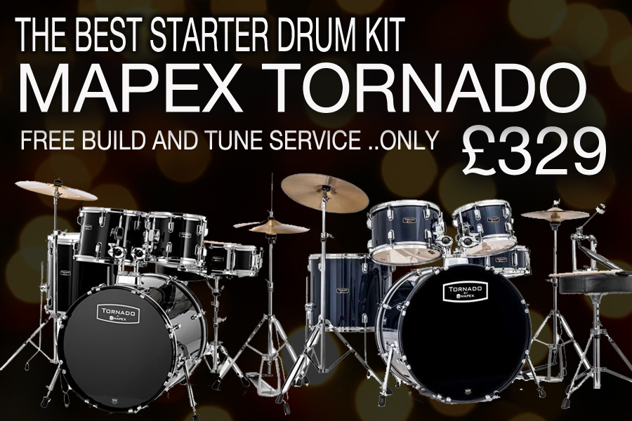 THE BEST STARTER COMPLETE DRUM KIT