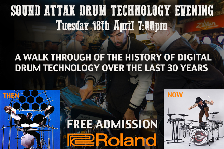SOUND ATTAK - HISTORY OF DRUM TECHNOLOGY EVENING