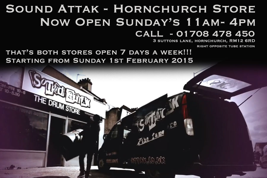 Hornchurch Branch Now Open Sundays 11am-4pm