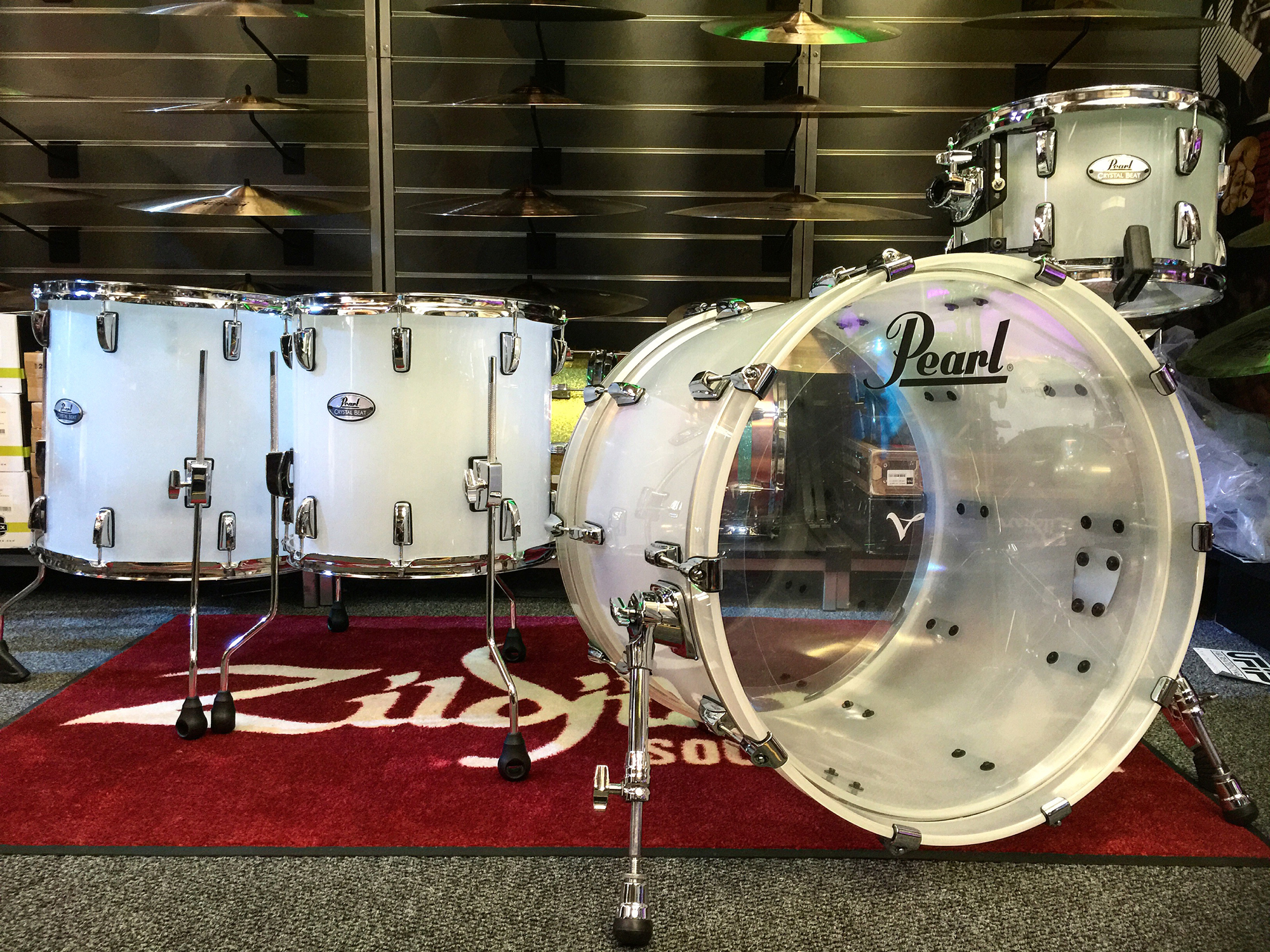 Pearl Pearl Crystal Beat 22 Crossover Drum Kit B