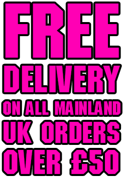 Free Delivery on UK mainland orders over £50