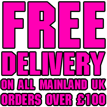 Free Delivery on UK mainland orders over £100