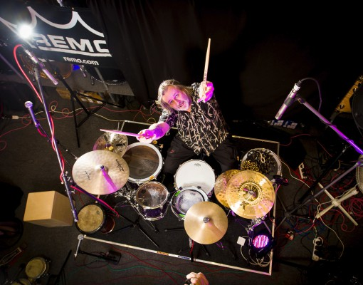 Pete Lockett Drum Clinic