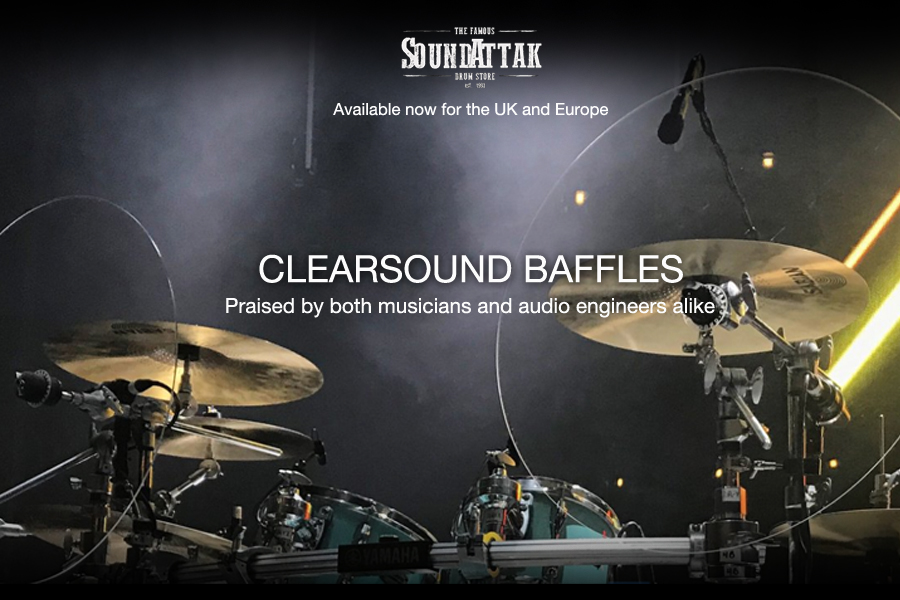 Clearsound Baffles - Now Available for UK and Europe