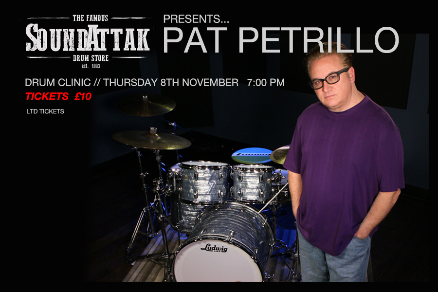 DRUM CLINIC WITH PAT PETRILLO