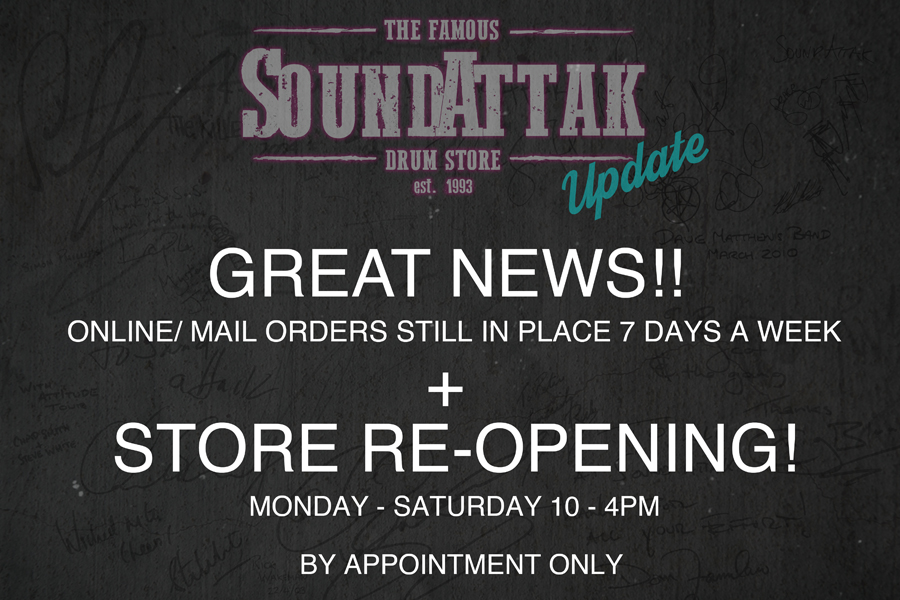 Store Re-Opening From Monday 15th June