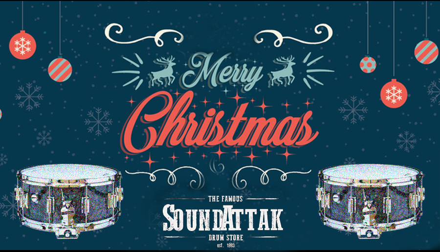 Merry Christmas from all the crew at Sound Attak
