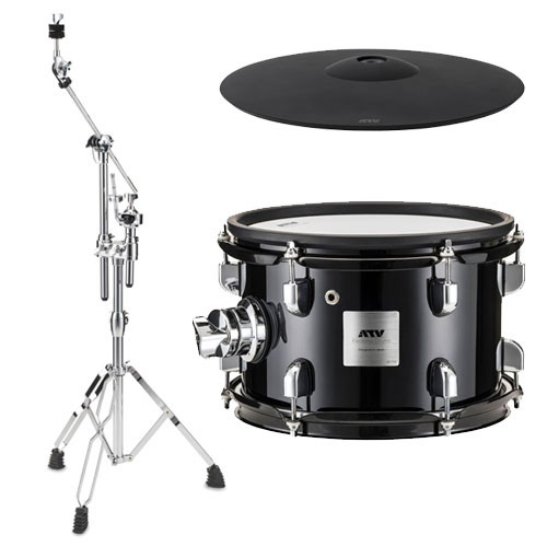 electronic drums atv expansion pack tom cym and stand. Black Bedroom Furniture Sets. Home Design Ideas