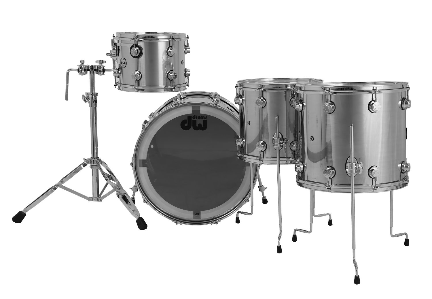 Drum workshop dw dw collectors stainless steel shell for 14x12 floor tom