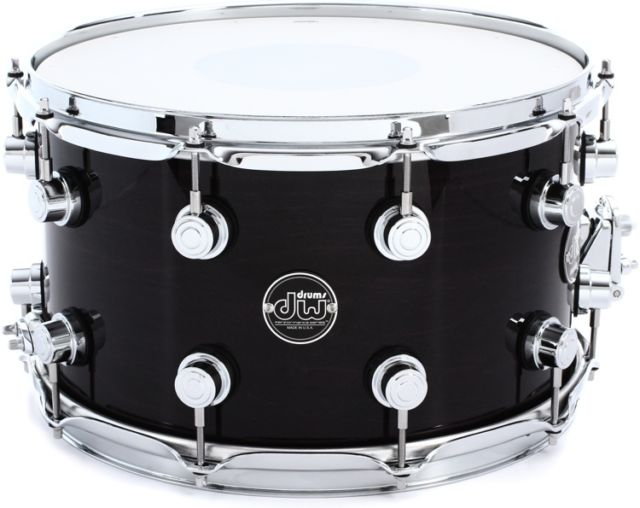 c342c7b2ac26 Snare Drums   DW PERFORMANCE SERIES LACQUER SNARE DRUM - EBONY STAIN ...