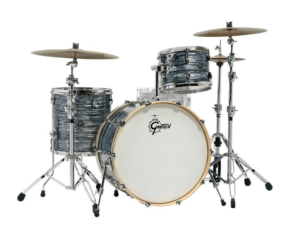 acoustic drum kits gretsch renown 22 39 39 3 piece shell pack silver oyster pearl. Black Bedroom Furniture Sets. Home Design Ideas