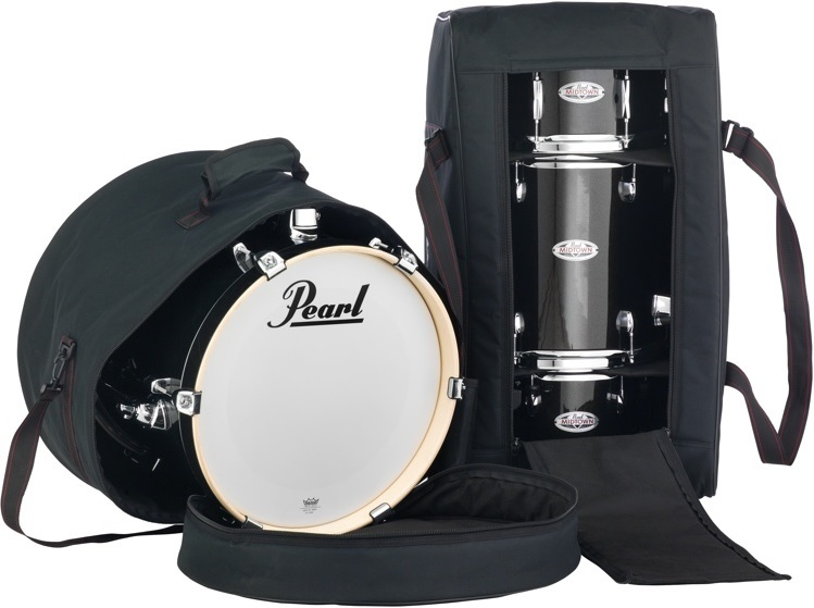 acoustic drum kits pearl midtown soft case bag set. Black Bedroom Furniture Sets. Home Design Ideas