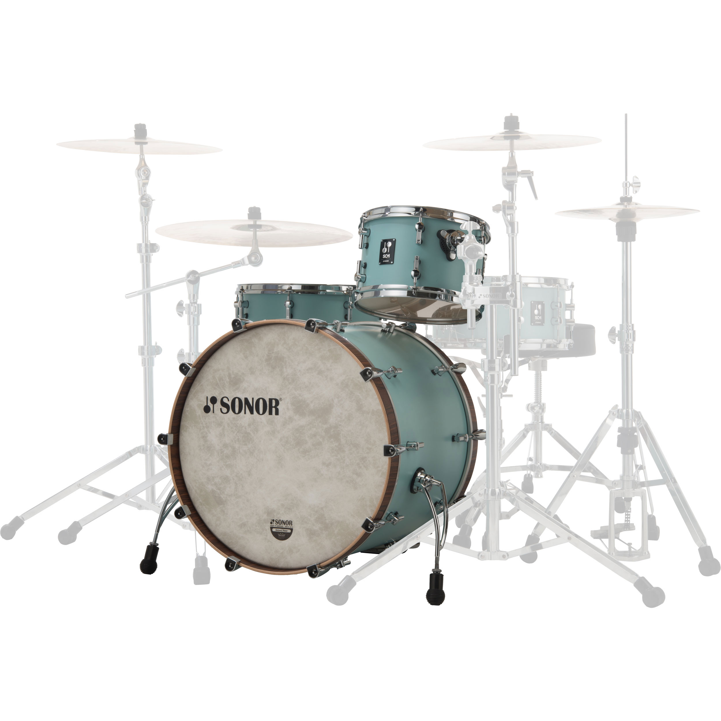 Acoustic Drum Kits Sonor Sq1 22 3 Piece Shell Pack