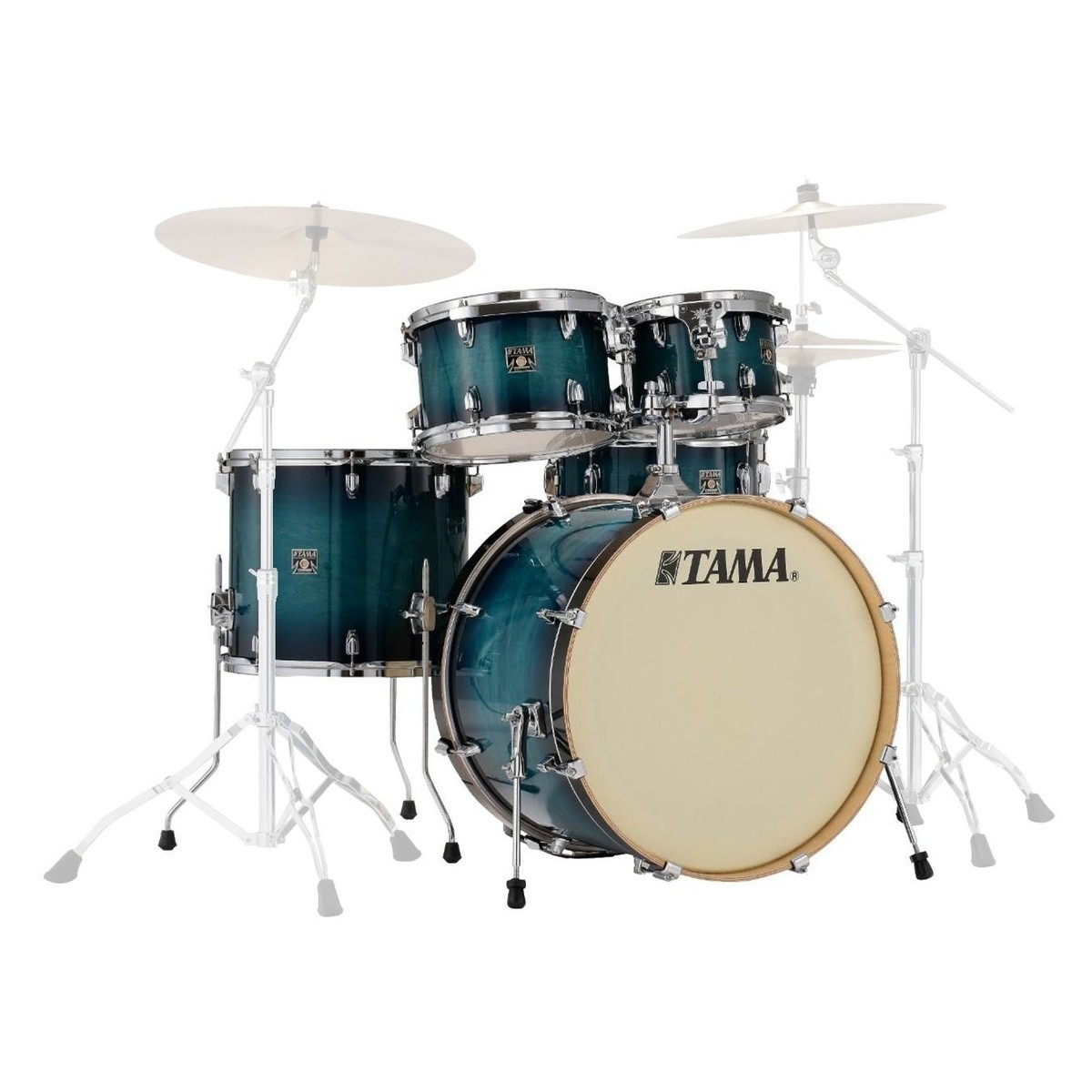 acoustic drum kits tama superstar classic 22 39 39 5 piece shell pack blue lacquer burst. Black Bedroom Furniture Sets. Home Design Ideas