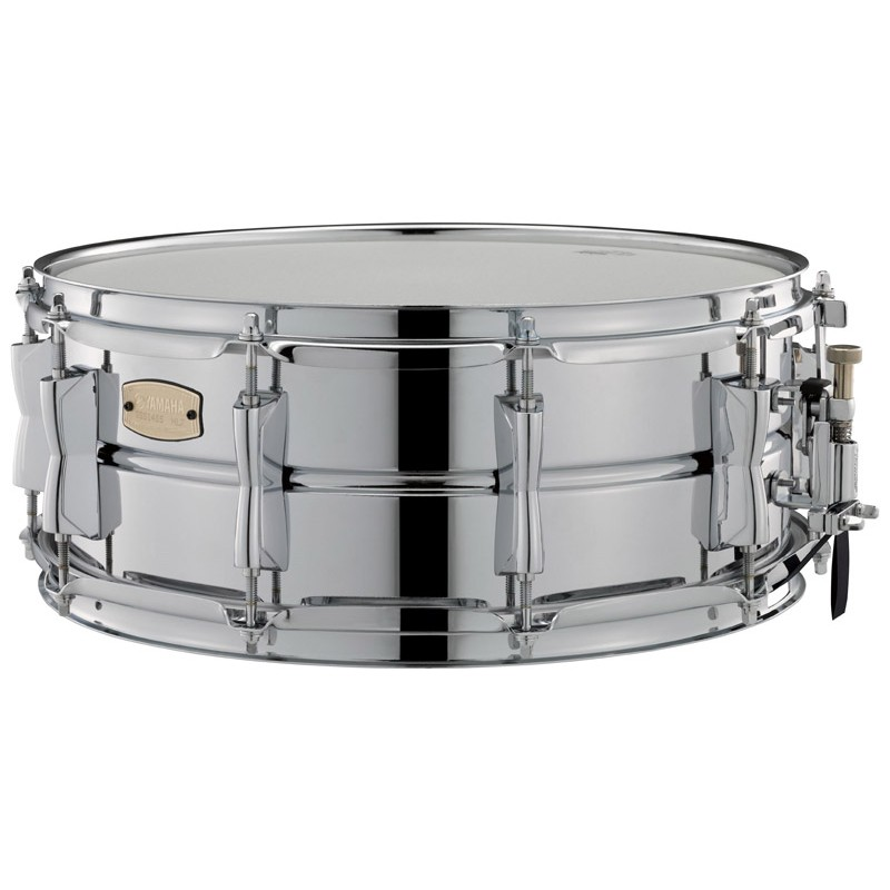 Snare drums yamaha sss1455 stage custom steel snare drum for Yamaha stage custom steel snare drum 14x6 5