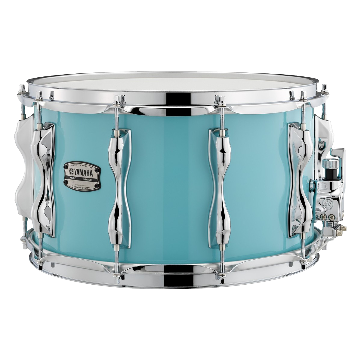 Yamaha Recording Custom Snare Drum 14x8'' - Surf Green + FREE Protection  Racket Case