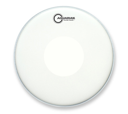 snare drum heads aquarian 14 texture coated w bottom drumhead w powerdot. Black Bedroom Furniture Sets. Home Design Ideas
