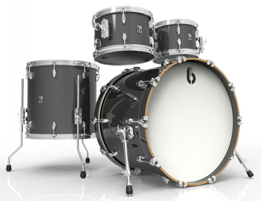 acoustic drum kits british drum co legend series 22 39 39 4 piece shell pack night skye. Black Bedroom Furniture Sets. Home Design Ideas