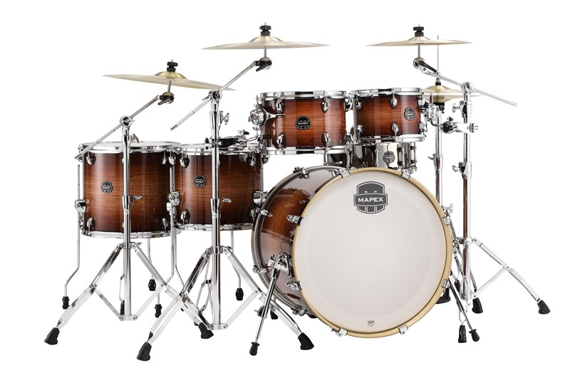 Mapex Armory Studioease Fast 6-Piece Redwood Burst Shell Pack