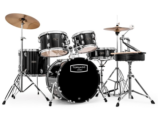 starter kits mapex tornadoiii compact 18 39 39 complete drum kit choice of 3 colours. Black Bedroom Furniture Sets. Home Design Ideas