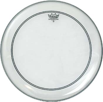 heads remo 20 powerstroke 3 coated bass drum head w falam slam patch. Black Bedroom Furniture Sets. Home Design Ideas