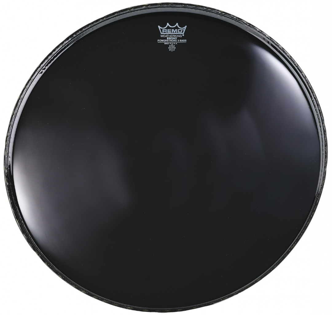 bass drum heads remo 20 powerstroke 3 ebony w dynamo hole template reso bass drum head. Black Bedroom Furniture Sets. Home Design Ideas