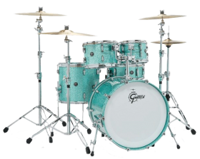 Gretsch_Renown_turquoise_Sparkle_Drumkit