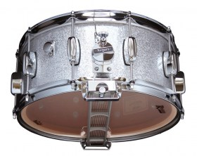 Rogers_1465_SnareDrum_BB_lug_Silver_Sparkle_02