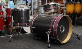 SH_SJC_CUstom_Drum_Kit_Flat_black_Floral_Purple_Sparkle_01