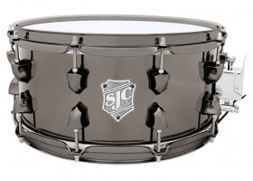 SJC_Apollo_Brass_Snare_black_Nickle_hw