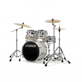 SOnor_AQ1_White_Stage_Drum_Kit
