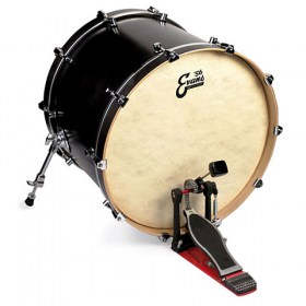 heads evans 56 eq4 calftone 22 bass drum head. Black Bedroom Furniture Sets. Home Design Ideas