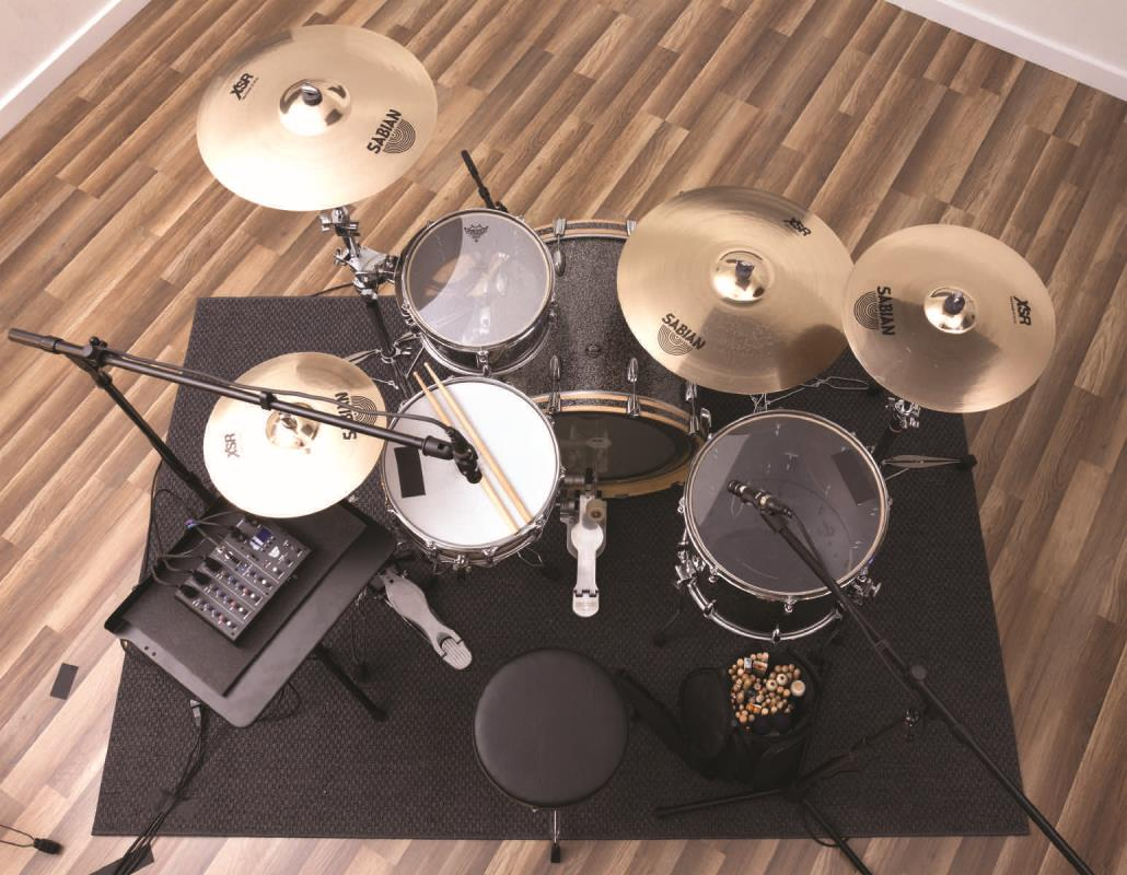 microphones sabian sound kit 4 piece set up 3 mics mixer. Black Bedroom Furniture Sets. Home Design Ideas
