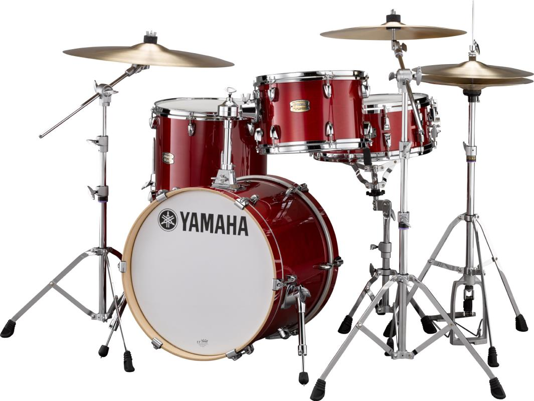 acoustic drum kits yamaha stage custom bop kit 3 piece shell pack cranberry. Black Bedroom Furniture Sets. Home Design Ideas