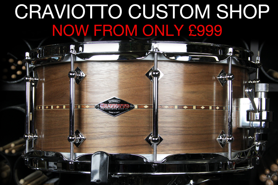 CRAVIOTTO CUSTOM SHOP SNARES