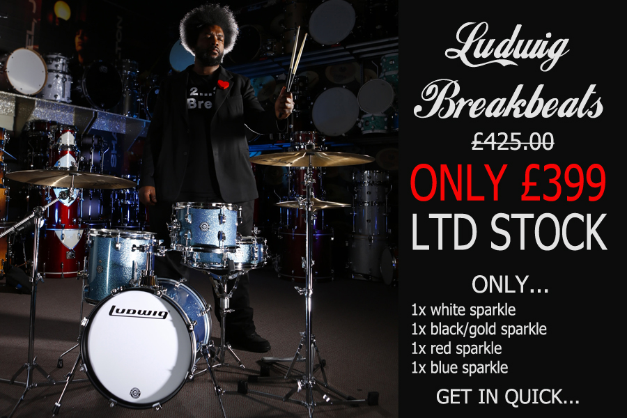 Ludwig Breakbeats Questlove Kit Special Offer