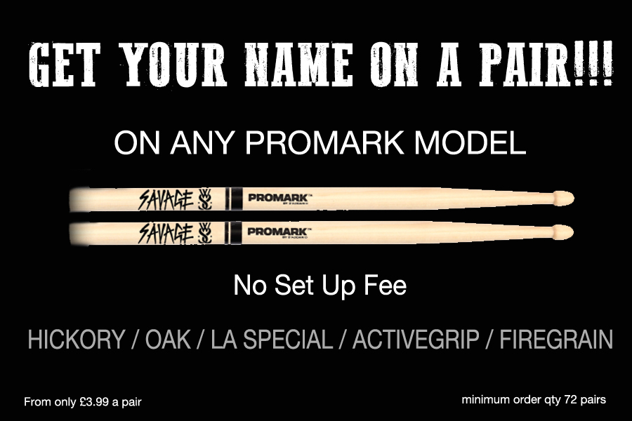 PROMARK CUSTOM STICKS