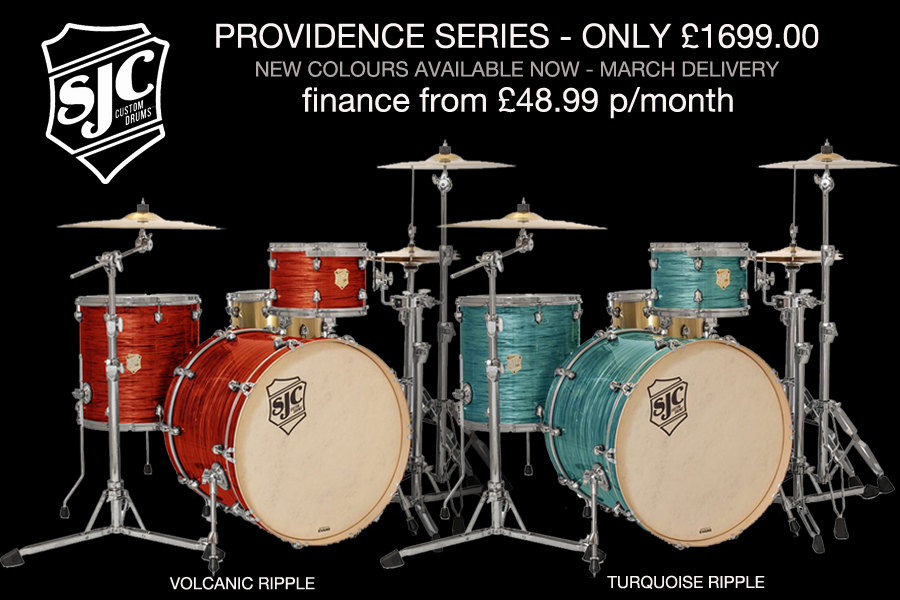 SJC Providence Series - New Colours For 2018