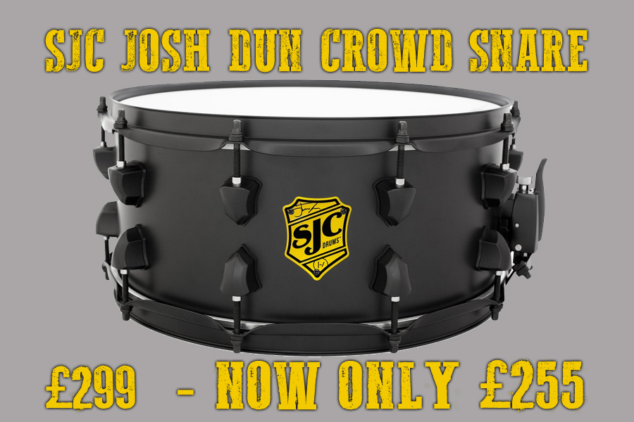 SJC Josh Dun Signature Crowd Snare Special Offer